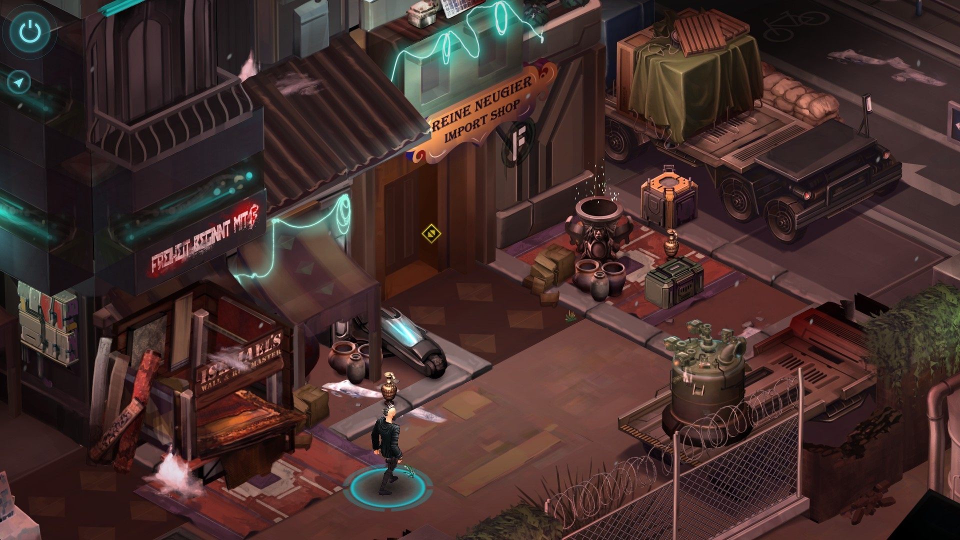 Screenshot for the game Shadowrun: Dragonfall - Director's Cut (2014) PC | RePack от R.G. Механики