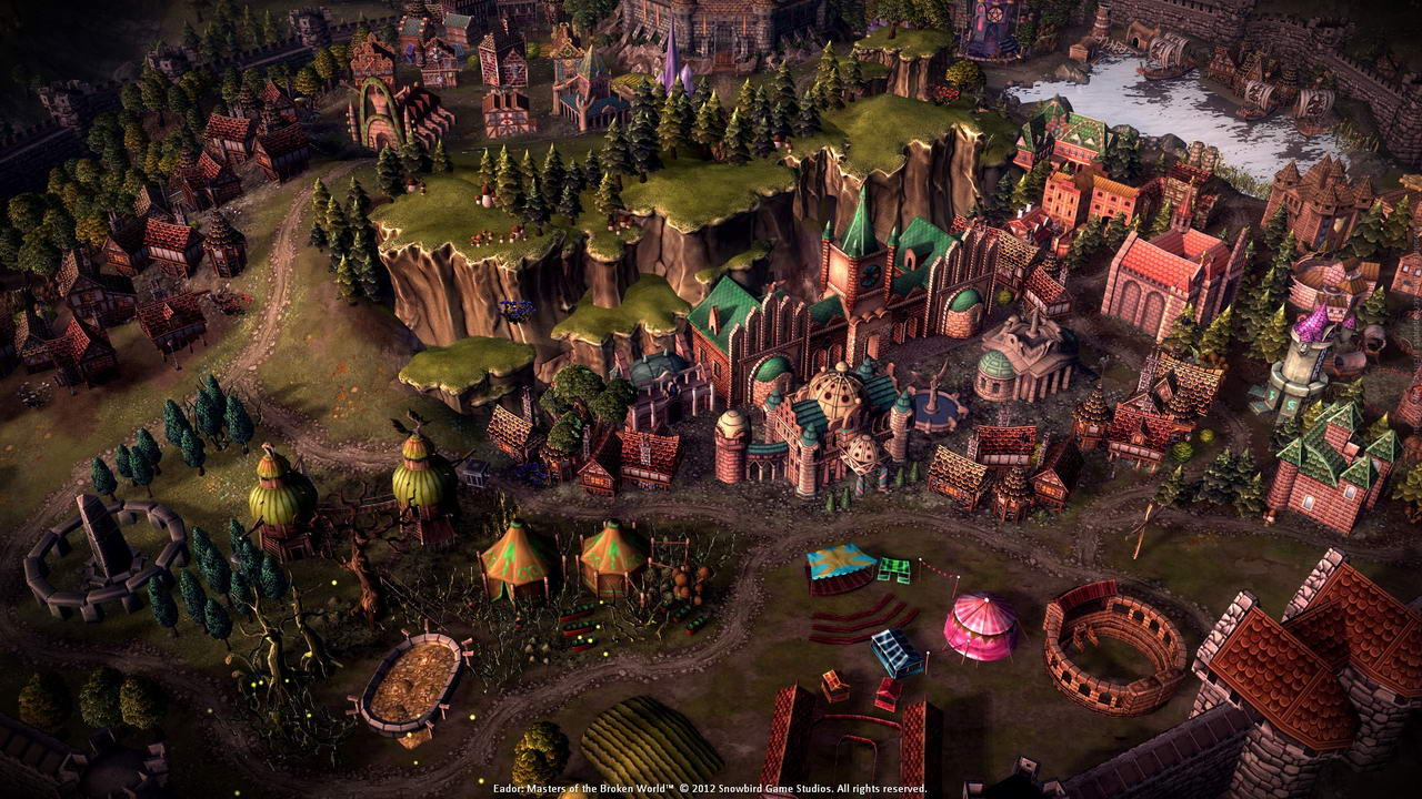Screenshot for the game Эадор: Владыки миров / Eador: Masters of the Broken World [v 1.6.3] (2013) PC | RePack от R.G. Механики