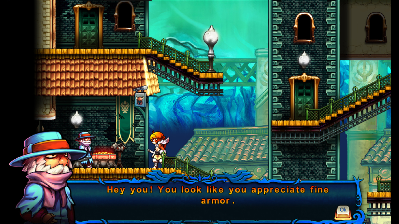 Screenshot for the game Valdis Story: Abyssal City (2013) PC | RePack от R.G. Механики