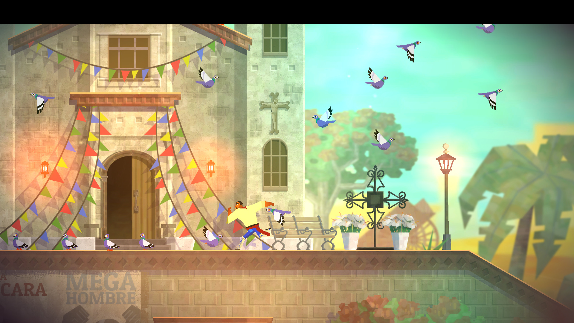 Screenshot for the game Guacamelee! - Super Turbo Championship Edition (2014) PC | RePack от R.G. Механики