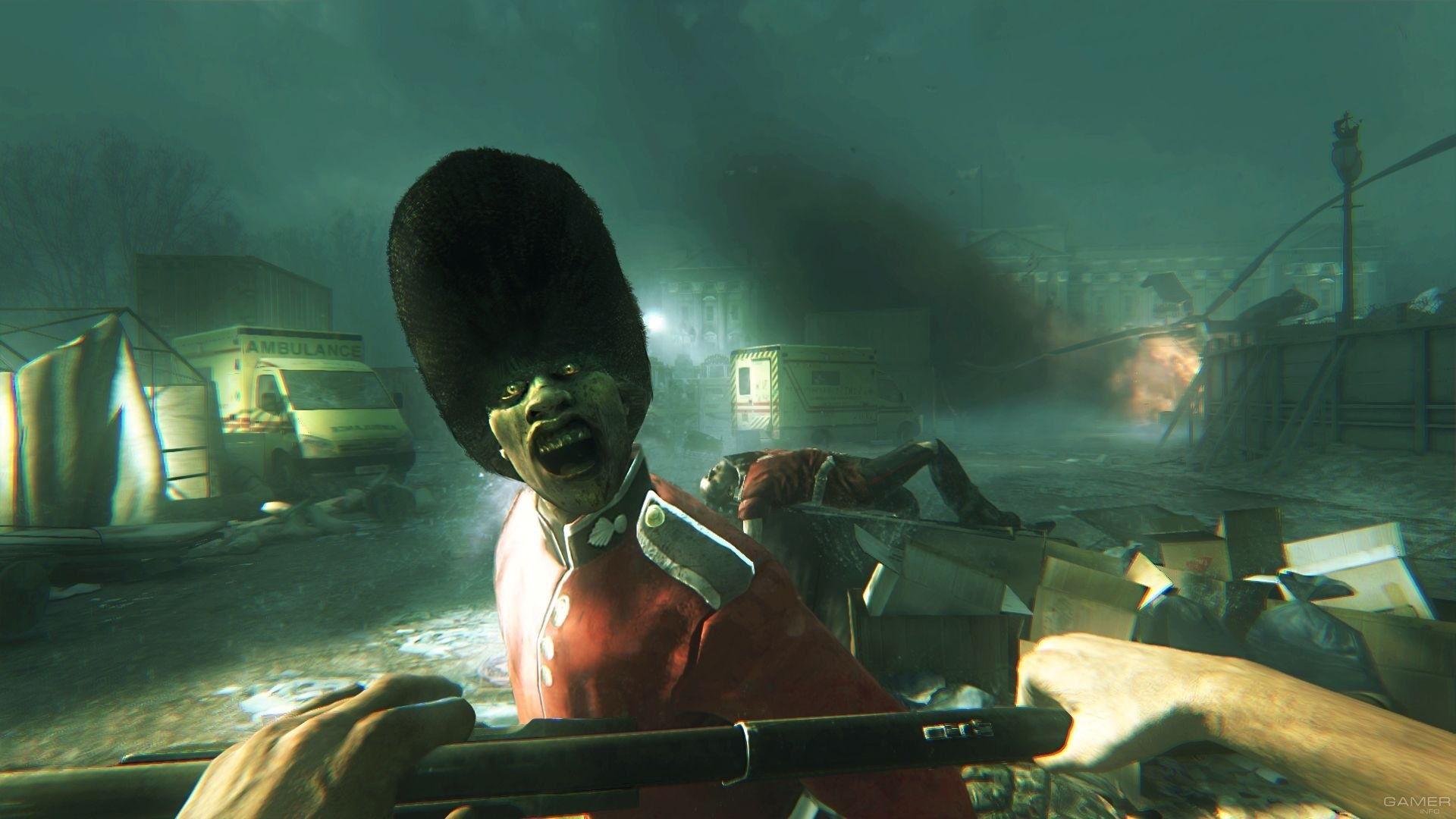 Screenshot for the game Zombi (2015) PC | RePack от R.G. Механики