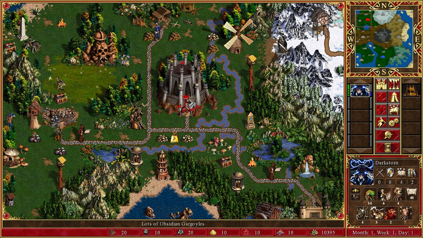 Screenshot for the game Heroes of Might & Magic 3: HD Edition [Update 4] (2015) PC | RePack от R.G. Механики