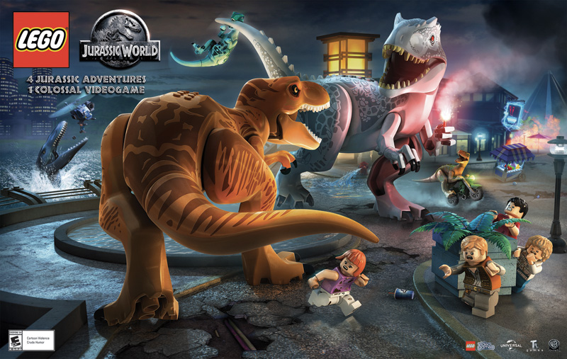 Screenshot for the game LEGO: Мир Юрского периода / LEGO: Jurassic World [Update 1] (2015) PC | RePack от R.G. Механики