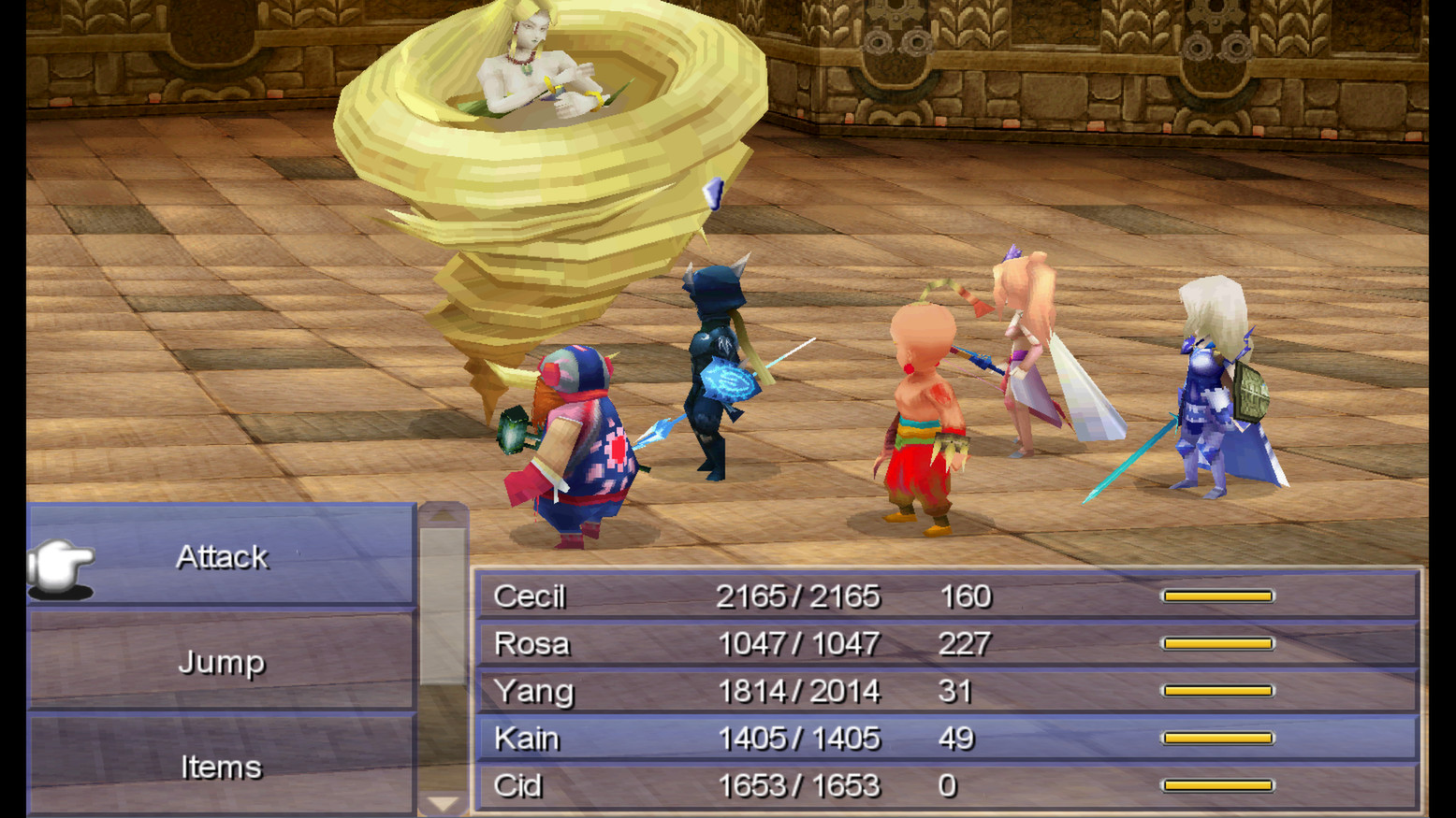 Screenshot for the game Final Fantasy IV (2014) PC | RePack от R.G. Механики