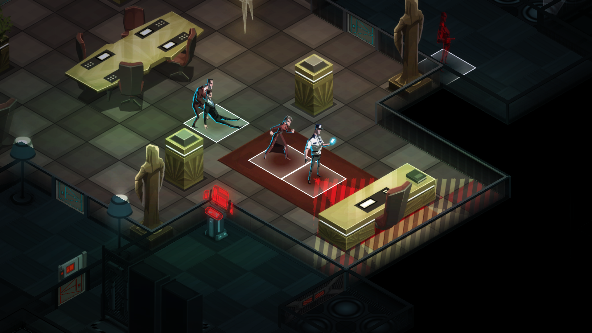 Screenshot for the game Invisible Inc [Update 2] (2015) PC | RePack от R.G. Механики