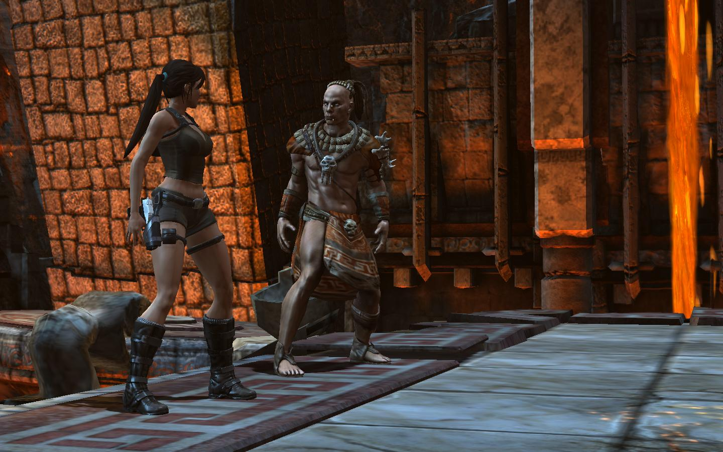 Screenshot for the game Lara Croft and the Guardian of Light (2010) PC | RePack от R.G. Механики