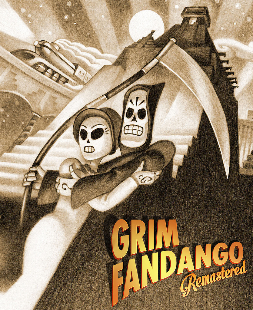 Cover Grim Fandango Remastered [v 1.4.1] (2015) PC | RePack от R.G. Механики