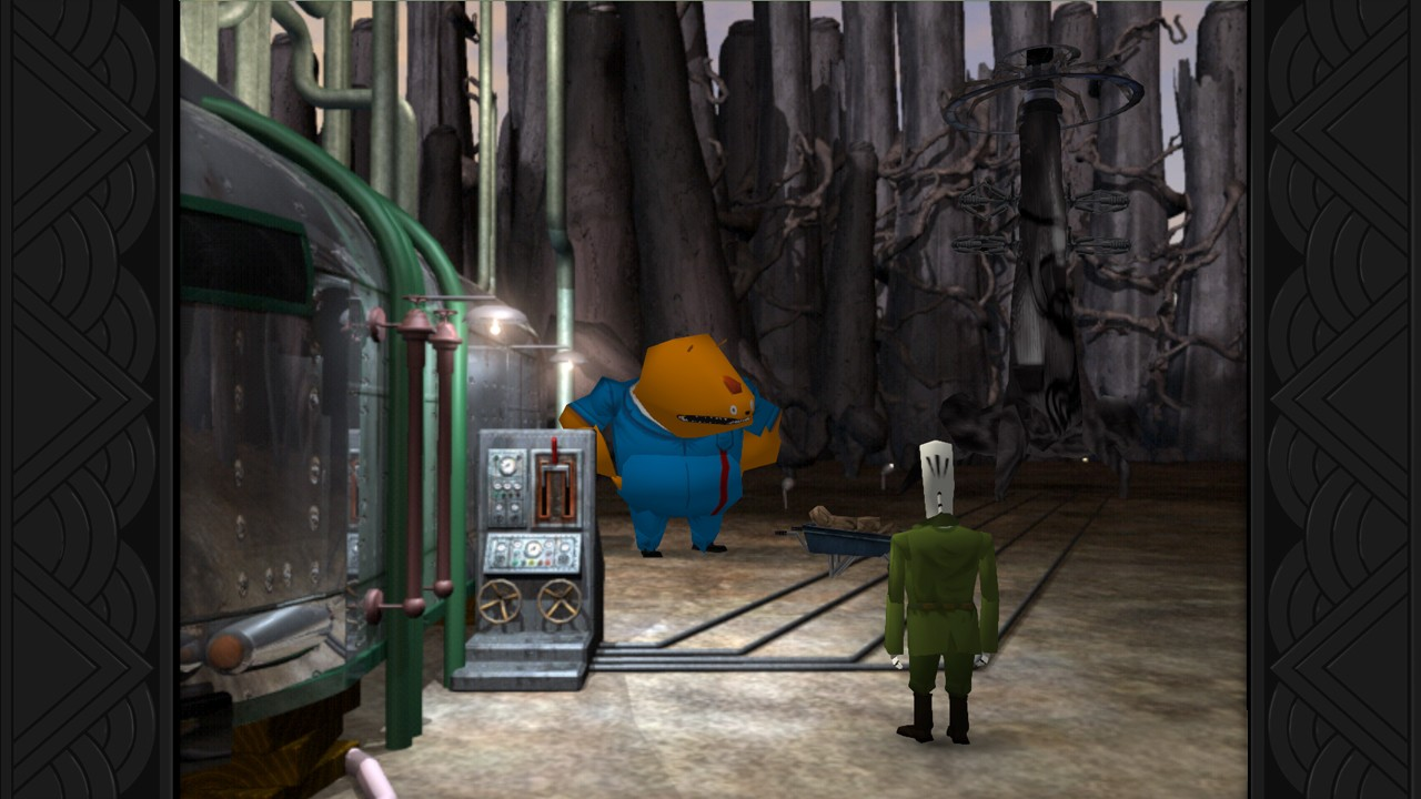 Screenshot for the game Grim Fandango Remastered [v 1.4.1] (2015) PC | RePack от R.G. Механики