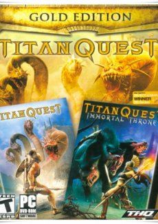 Poster Titan Quest - Gold Edition (2006)