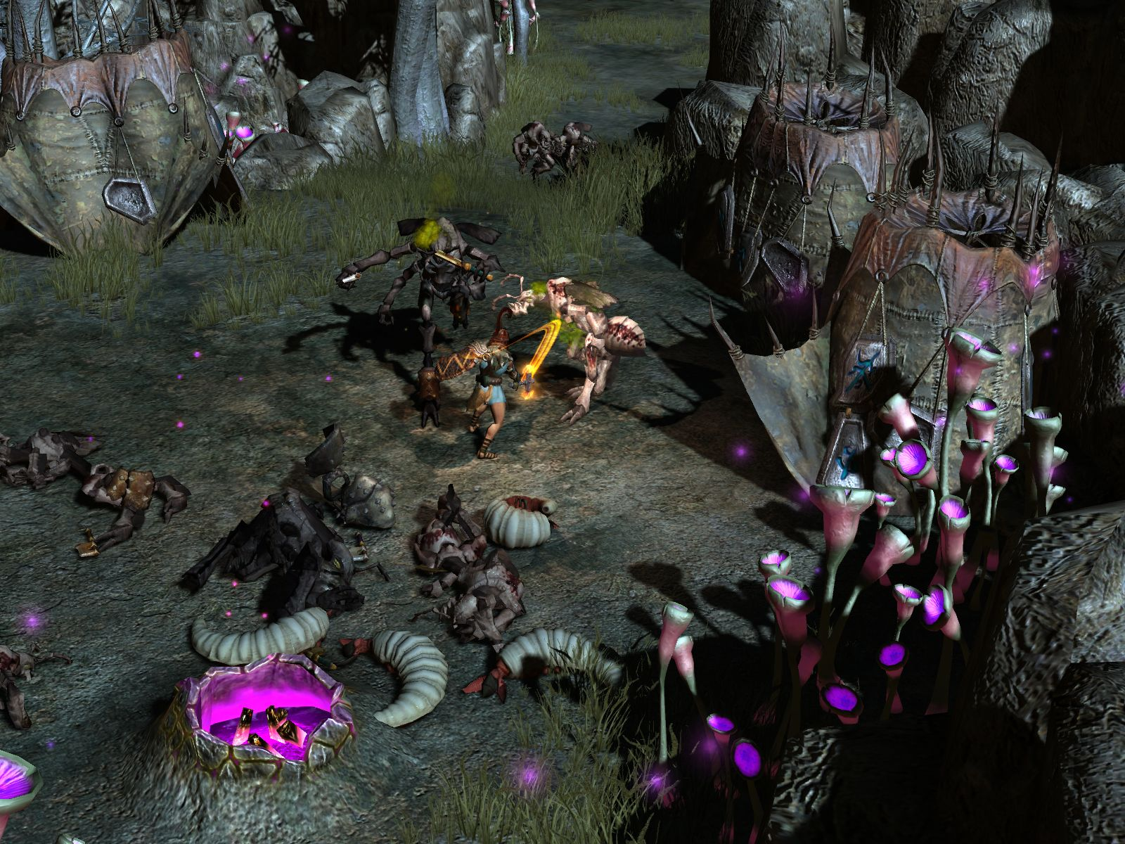 Screenshot for the game Titan Quest - Gold Edition (2006-2007) PC | RePack от R.G. Механики