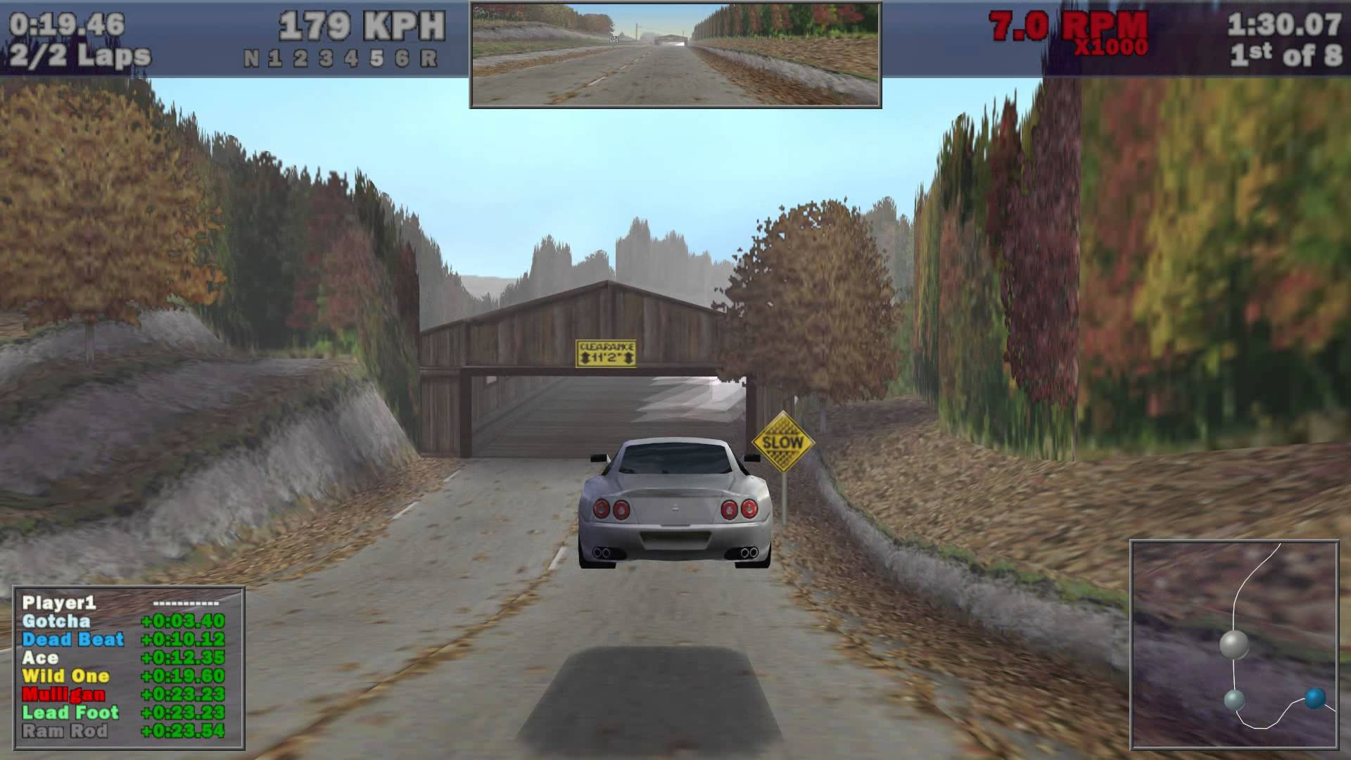 Screenshot for the game Need for Speed III: Hot Pursuit (1998) PC | RePack от R.G. Механики