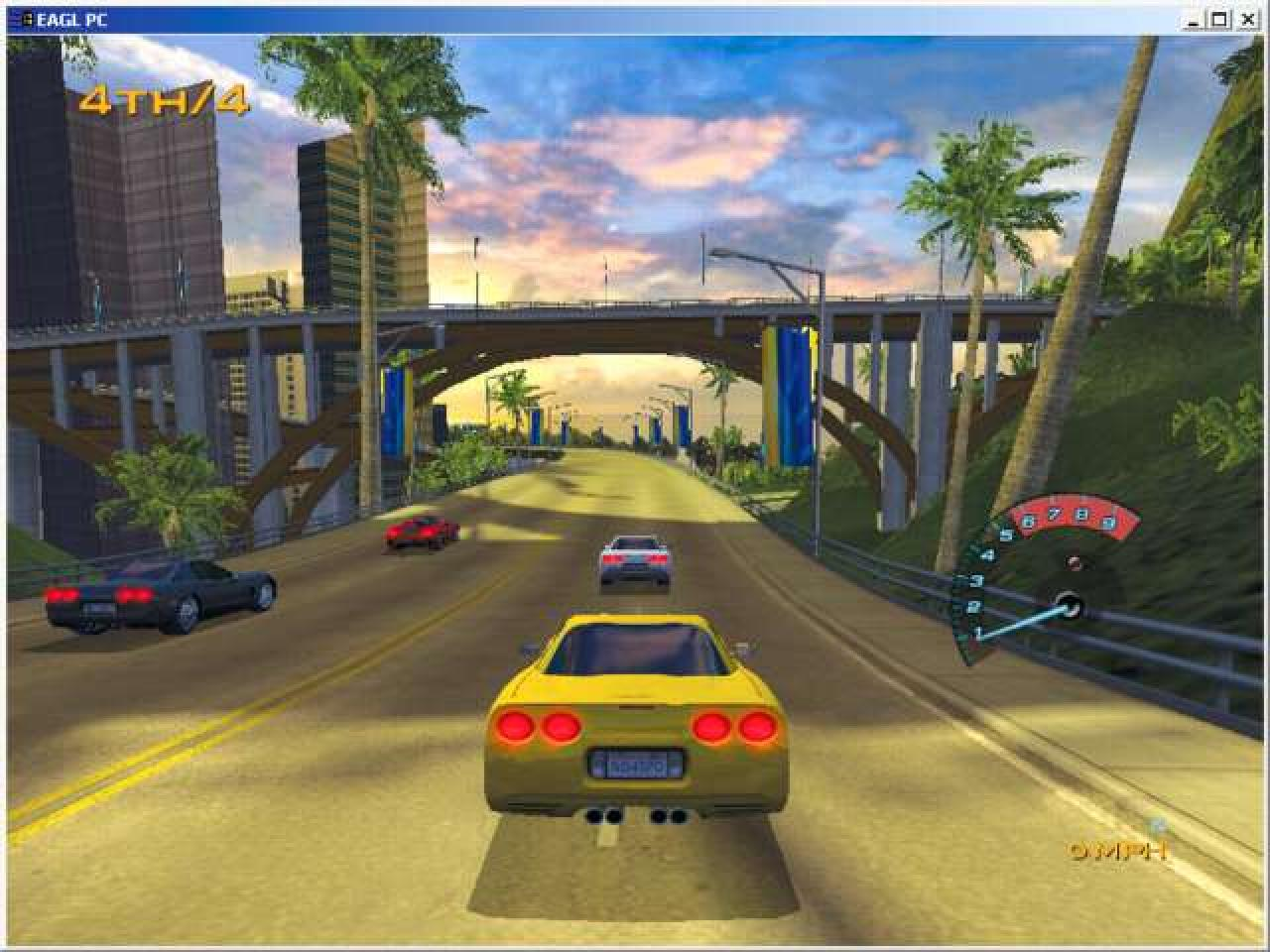 Screenshot for the game Need for Speed: Hot Pursuit 2 (2002) PC | RePack от R.G. Механики