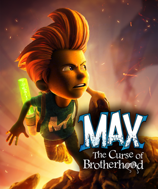 Poster Max: The Curse of Brotherhood (2014)