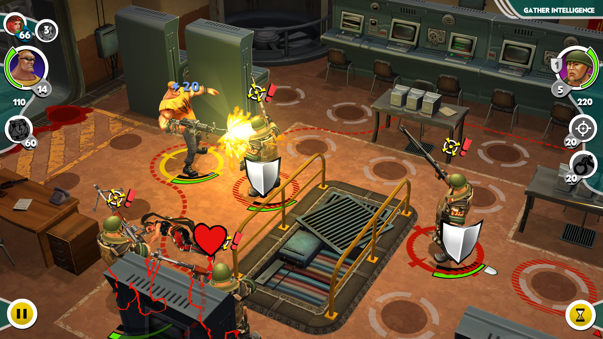 Screenshot for the game Antisquad [v 1.9.1 + 5 DLC] (2014) PC | RePack от R.G. Механики