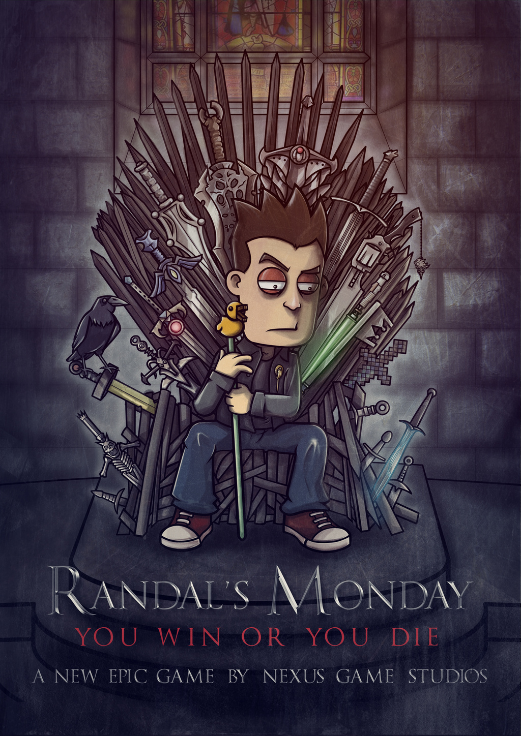 Cover Randal's Monday [v 1.03] (2014) PC | RePack от R.G. Механики