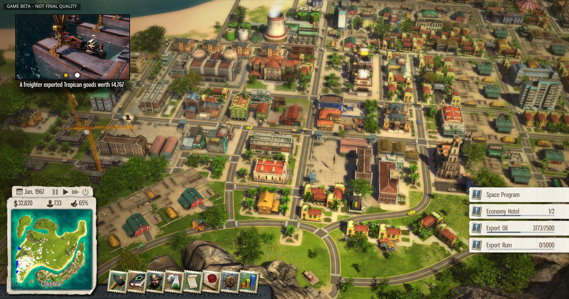 Screenshot for the game Tropico: Anthology (2001-2014) PC | RePack от R.G. Механики
