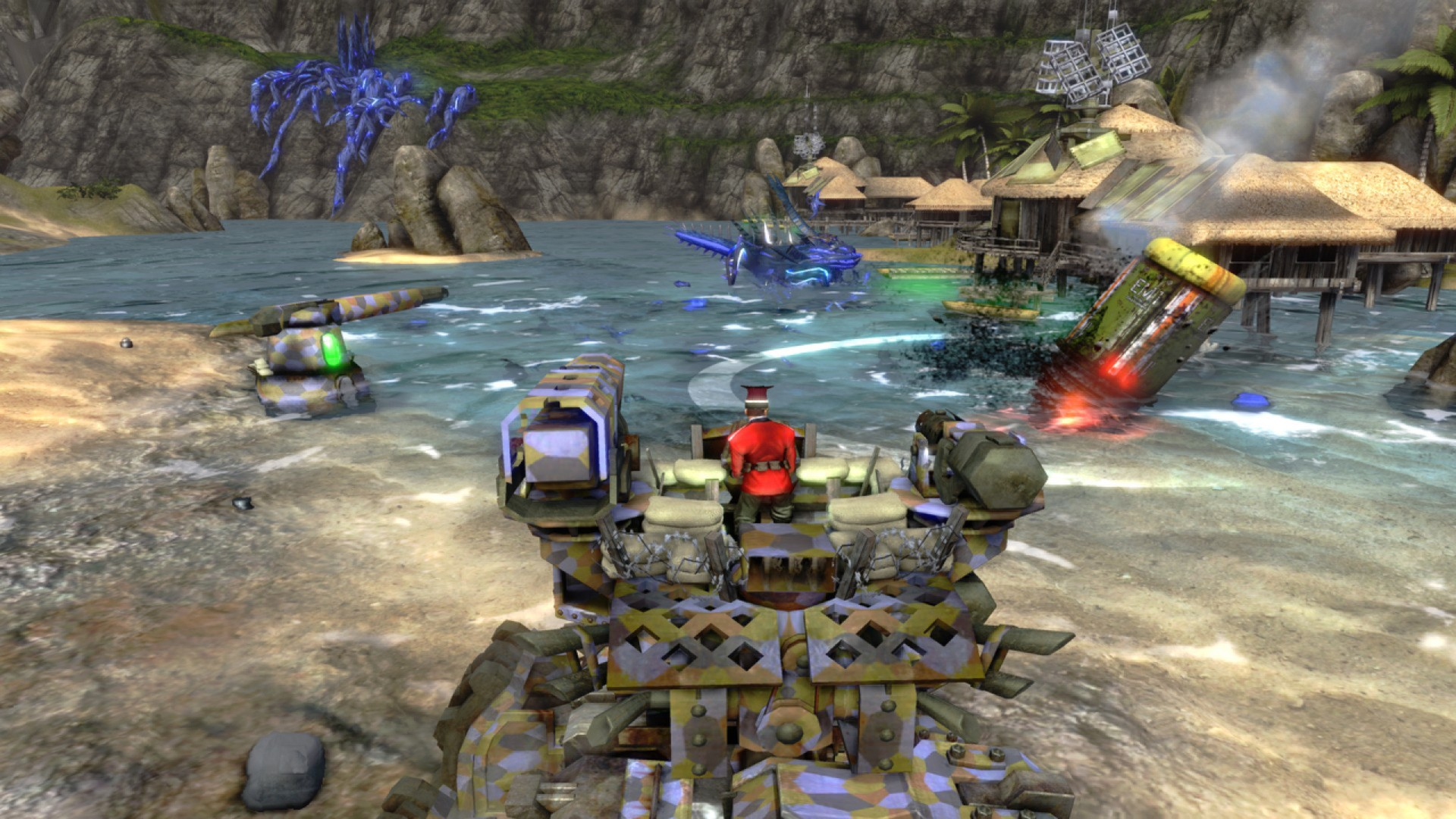 Screenshot for the game Iron Brigade (2012) PC | RePack от R.G. Механики