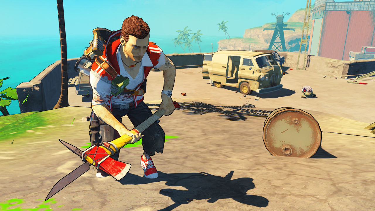 Screenshot for the game Escape: Dead Island (2014) PC | RePack от R.G. Механики