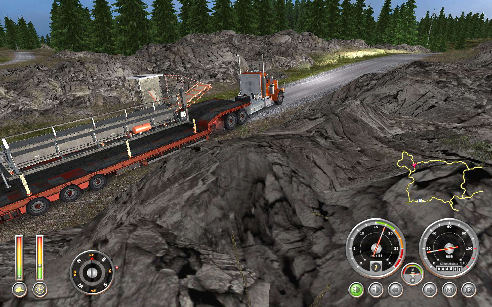 Screenshot for the game 18 Wheels of Steel: Extreme Trucker 2 (2011) PC | RePack от R.G. Механики