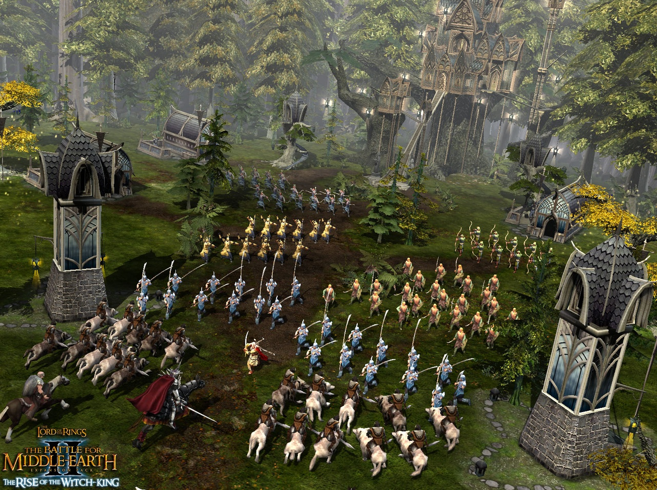 Screenshot for the game Lord Of The Rings: The Battle for Middle-Earth - Anthology (2004-2006) PC | RePack от R.G. Механики