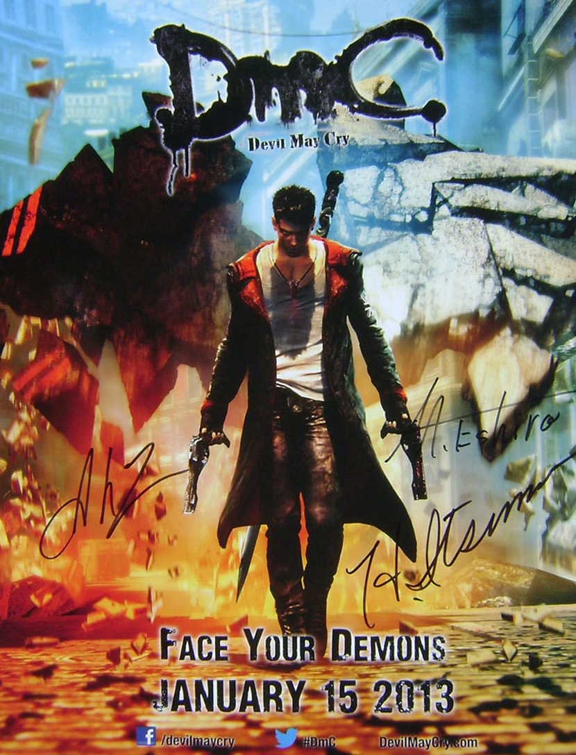 Poster DmC: Devil May Cry (2013)