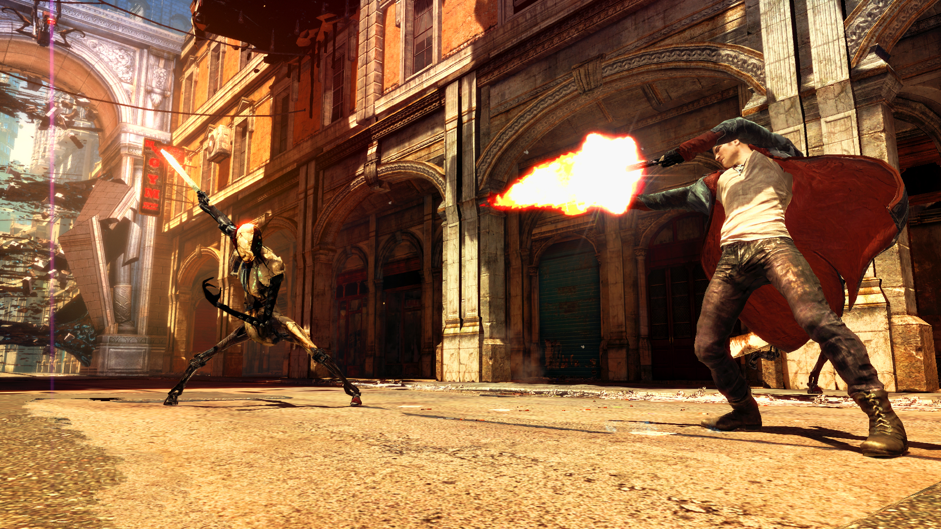 Screenshot for the game DmC: Devil May Cry (2013) PC | RePack от R.G. Механики