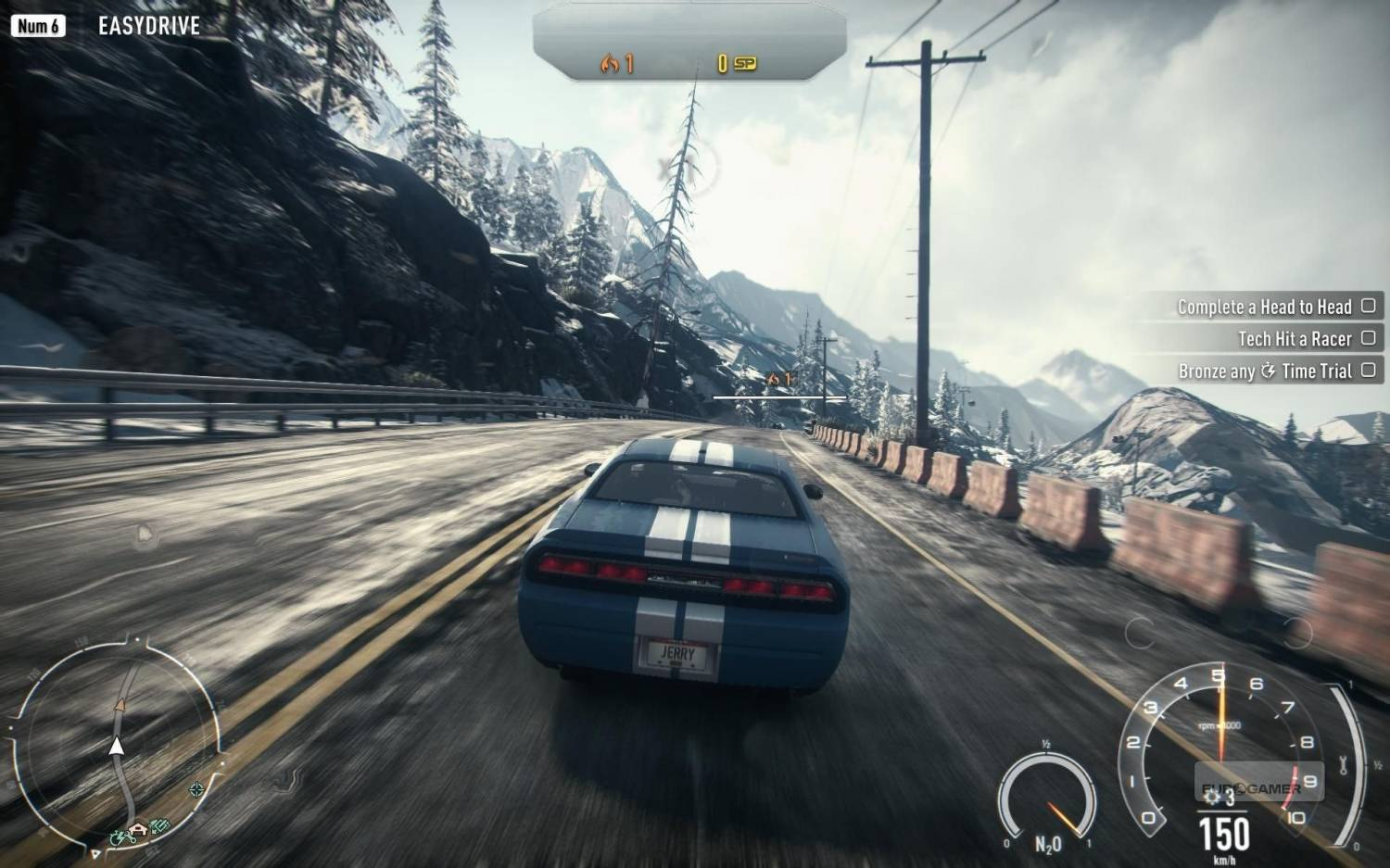 Screenshot for the game Need for Speed: Rivals (2013) PC | RePack от R.G. Механики