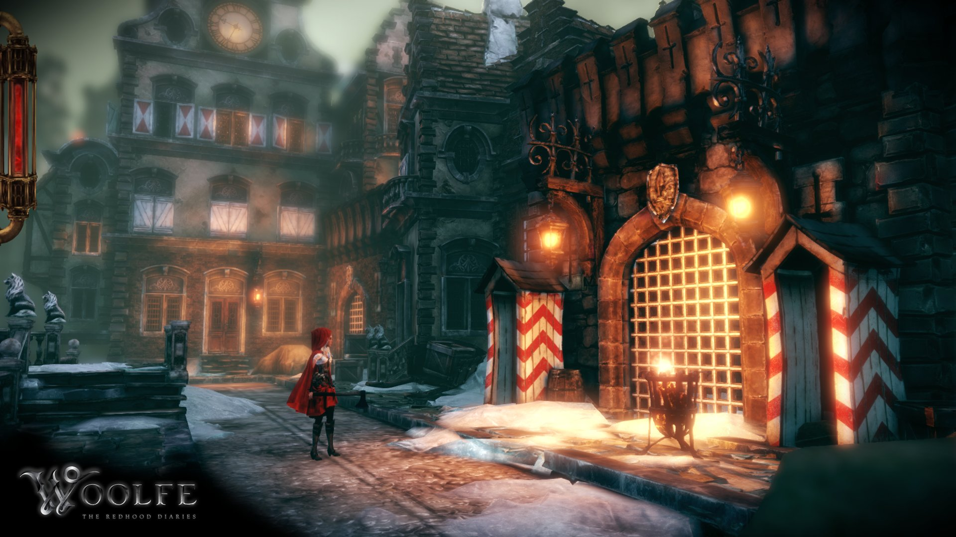 Screenshot for the game Woolfe - The Red Hood Diaries (2015) PC | RePack от R.G. Механики