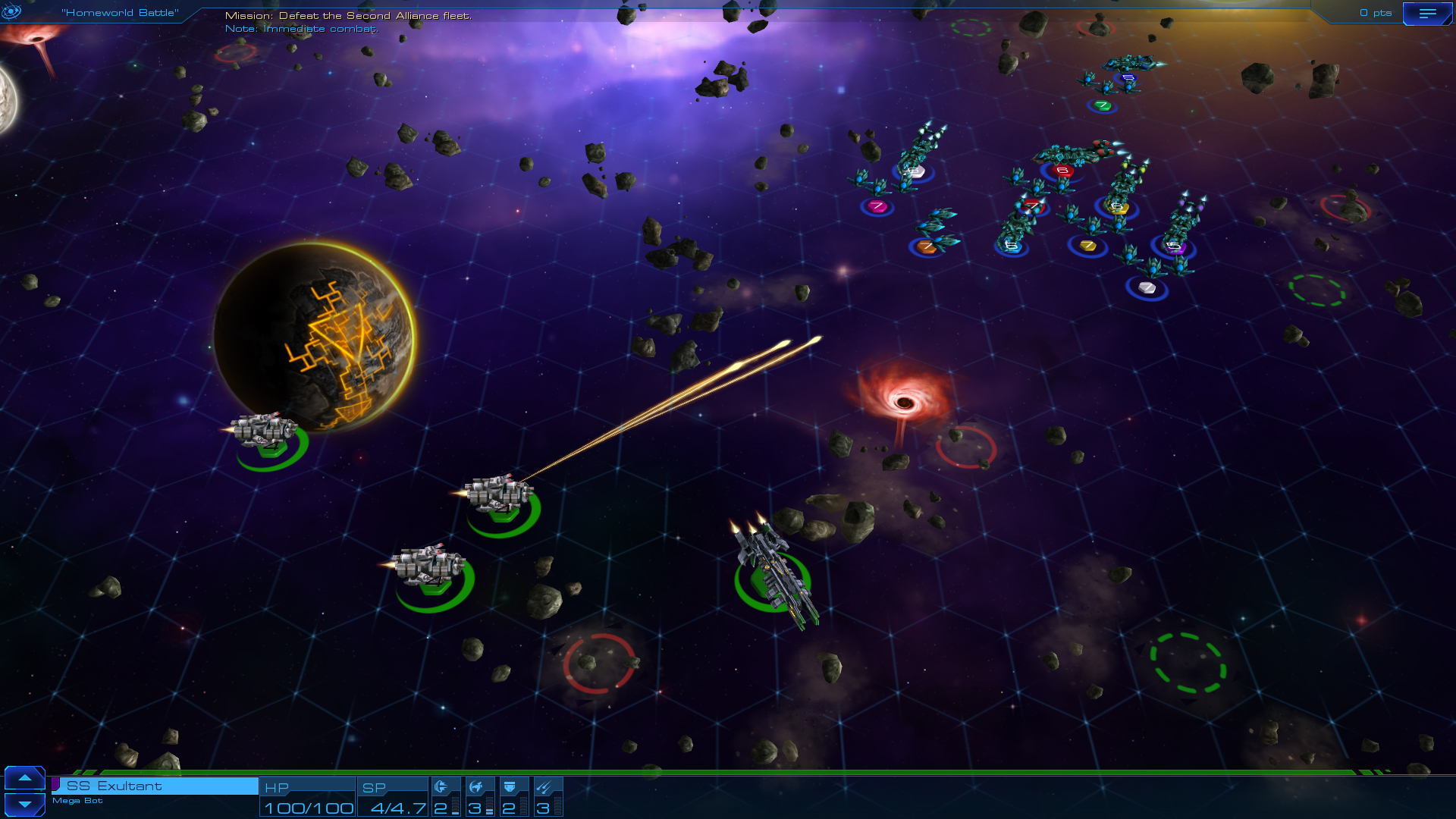 Screenshot for the game Sid Meier's Starships (2015) PC | RePack от R.G. Механики