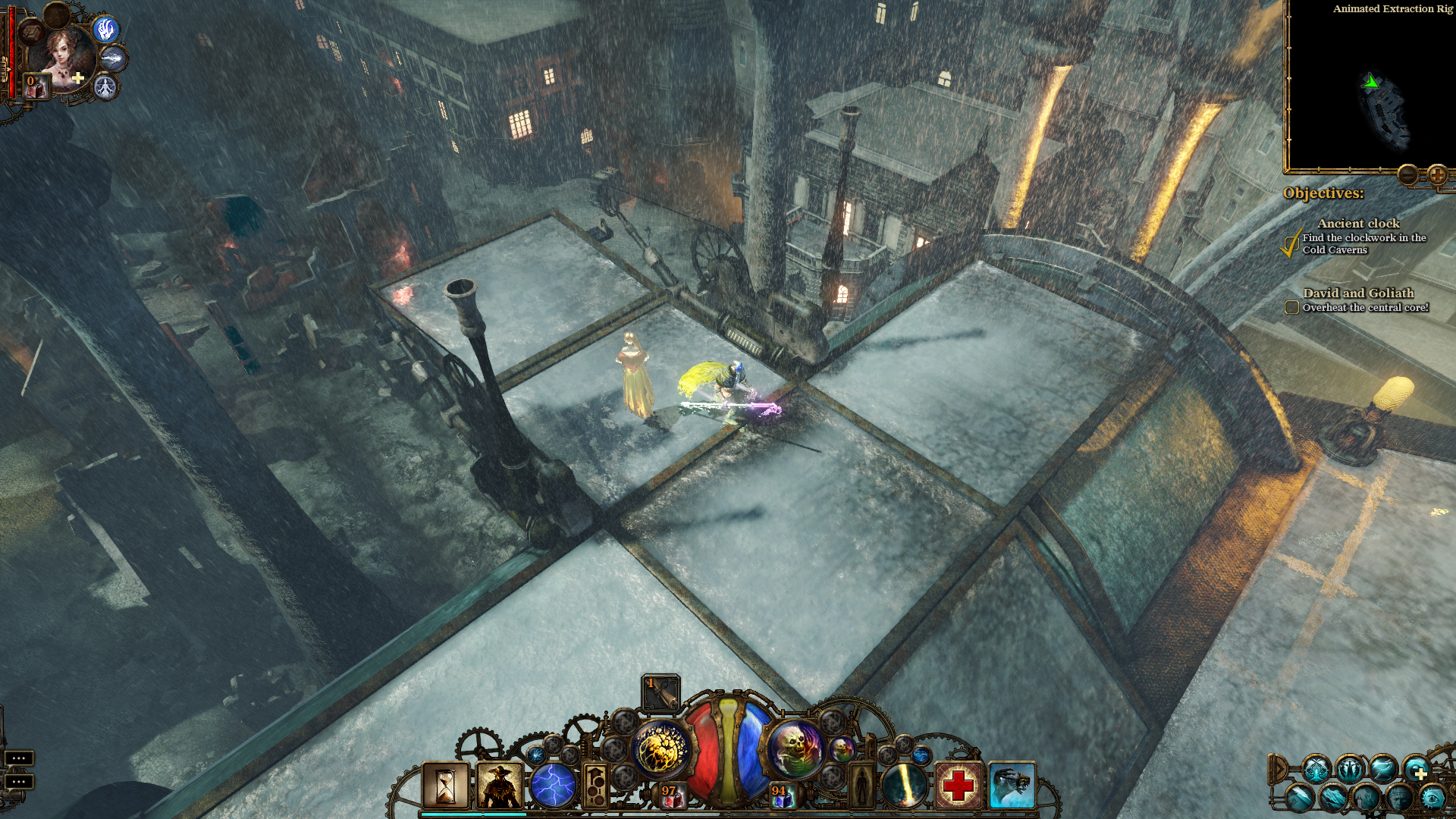 Screenshot for the game The Incredible Adventures of Van Helsing: Dilogy (2013-2014) PC | RePack от R.G. Механики
