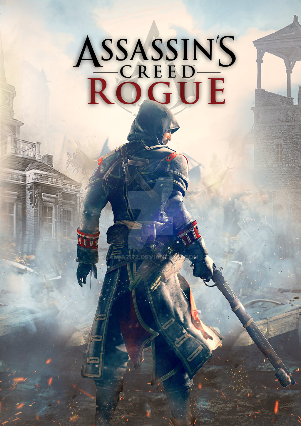 Cover Assassin's Creed: Rogue (2015) PC | RePack от R.G. Механики