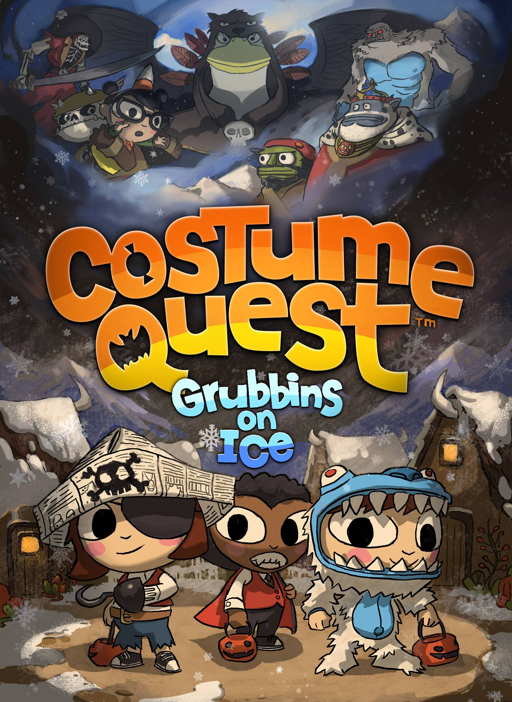 Cover Costume Quest: Grubbins on Ice (2012) РС | RePack от R.G. Механики