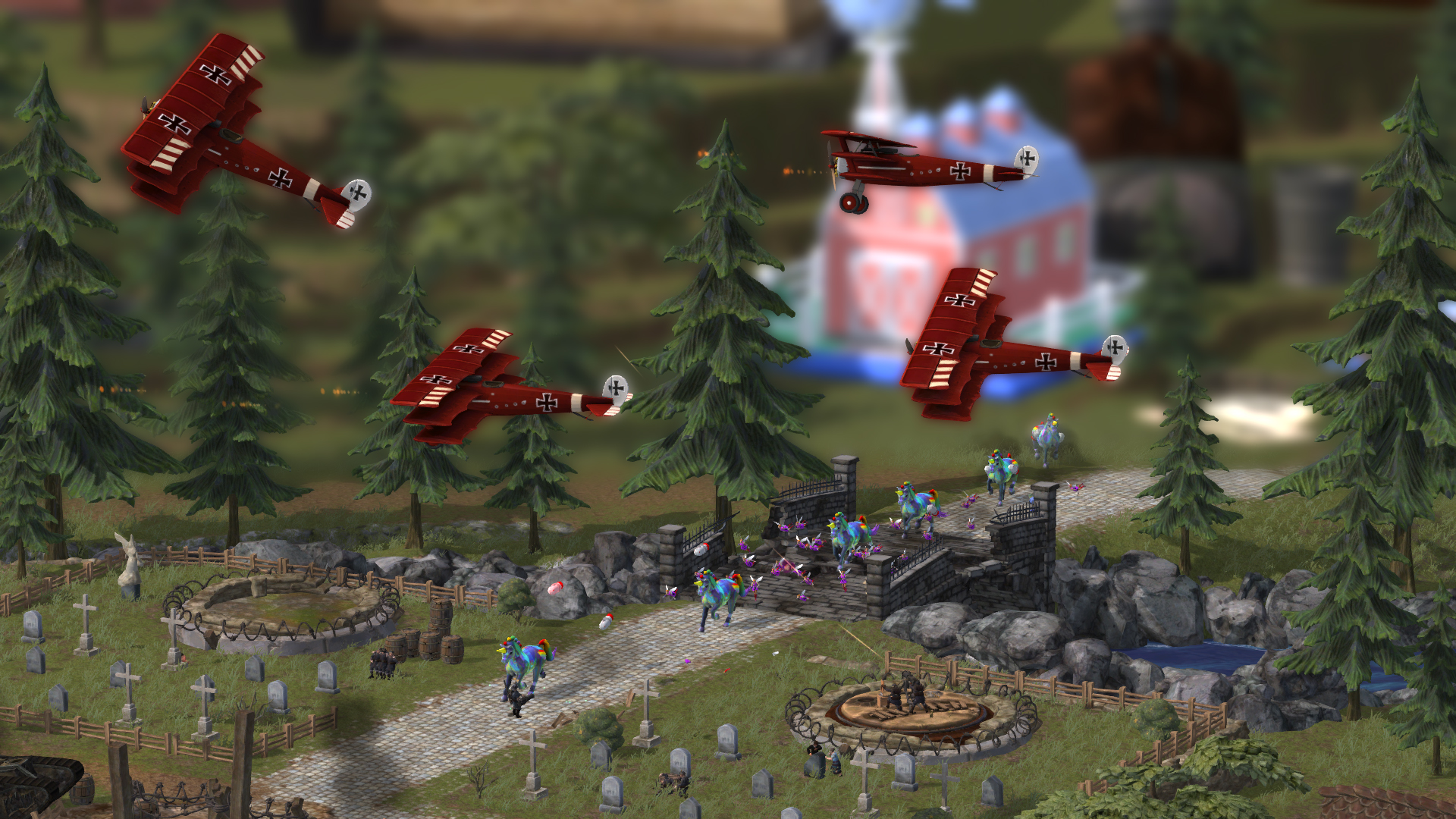 Screenshot for the game Toy Soldiers (2012) PC | RePack от R.G. Механики