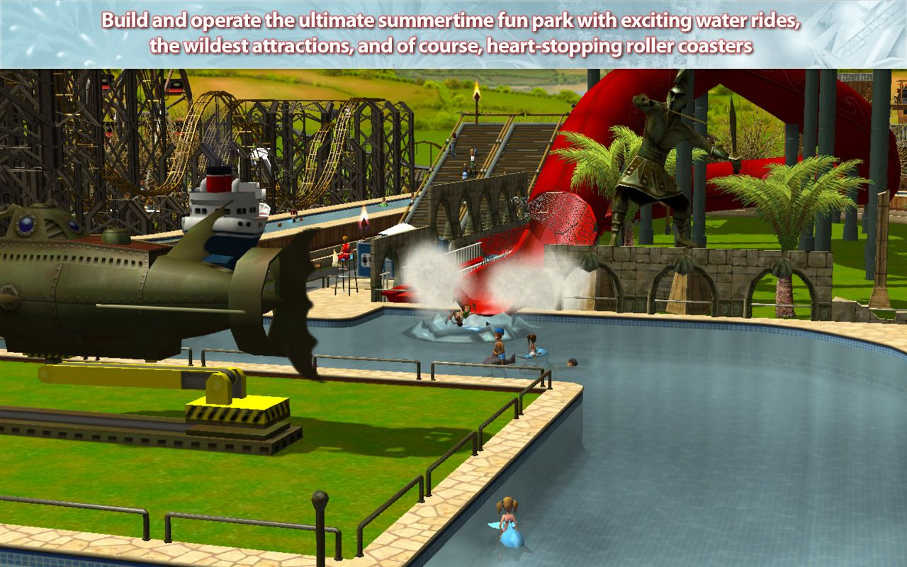 Screenshot for the game RollerCoaster Tycoon 3: Platinum (2006) PC | RePack от R.G. Механики
