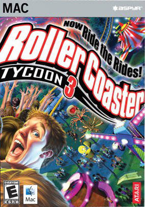 Poster RollerCoaster Tycoon 3: Platinum (2006)
