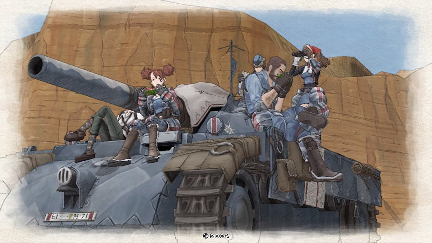 Screenshot for the game Valkyria Chronicles [Update 3 + 4 DLC] (2014) PC | RePack от R.G. Механики