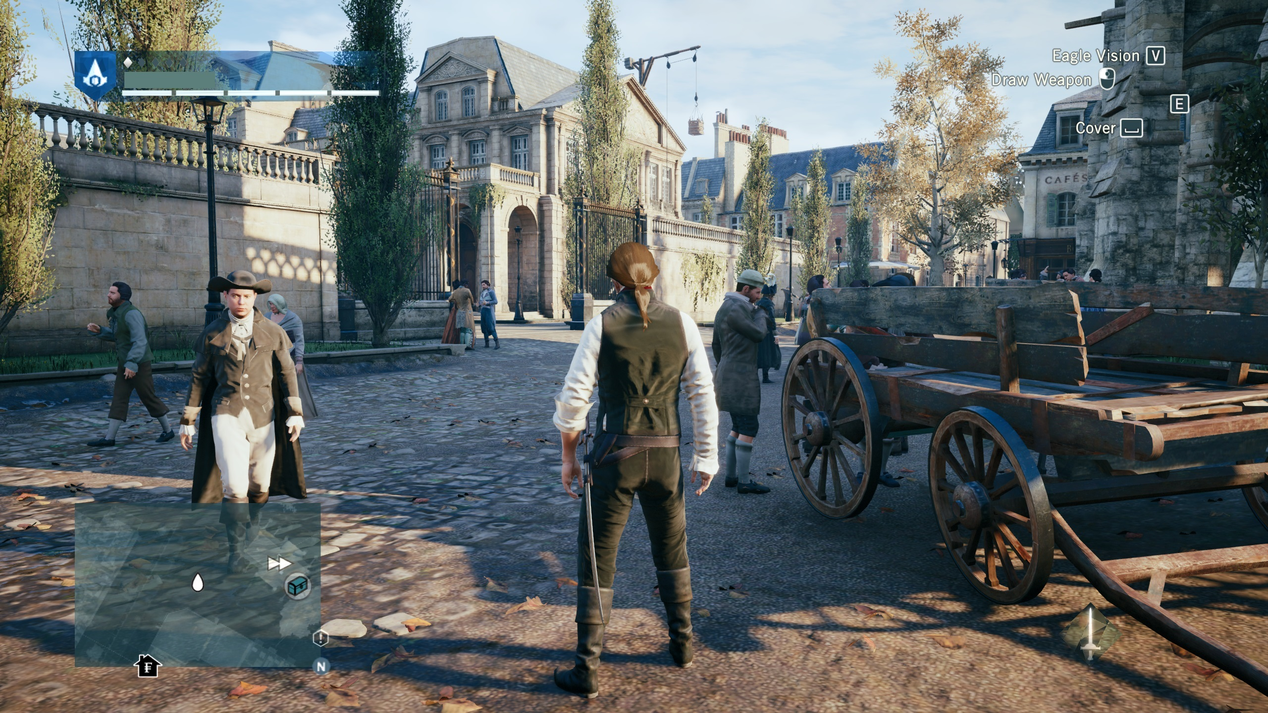 Screenshot for the game Assassin's Creed Unity (2014) | RePack от R.G. Механики