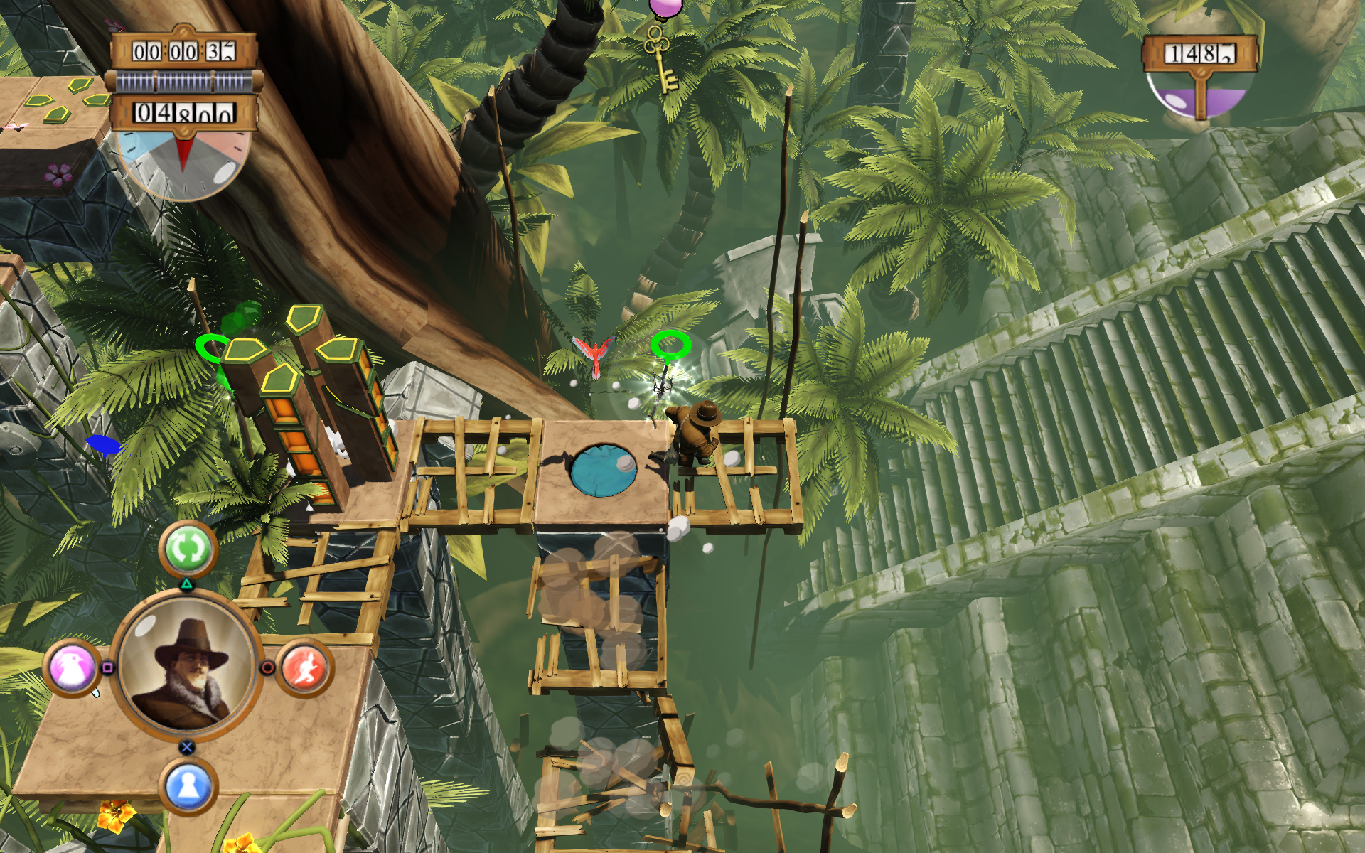 Screenshot for the game Hamilton's Great Adventure (2011) PC | RePack от R.G. Механики