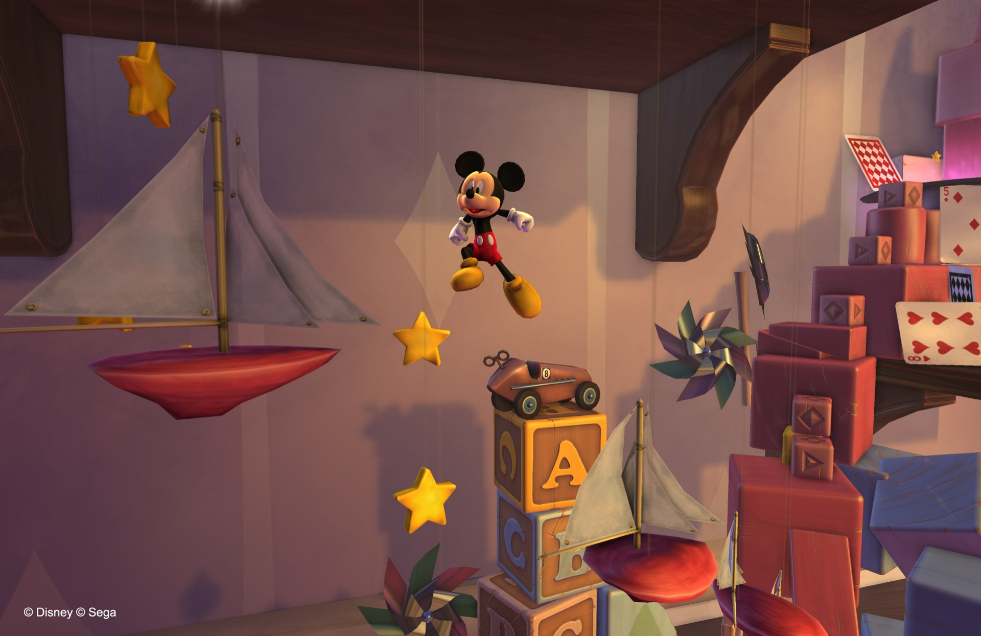 Screenshot for the game Castle of Illusion Starring Mickey Mouse [Update 1] (2013) PC | RePack от R.G. Механики