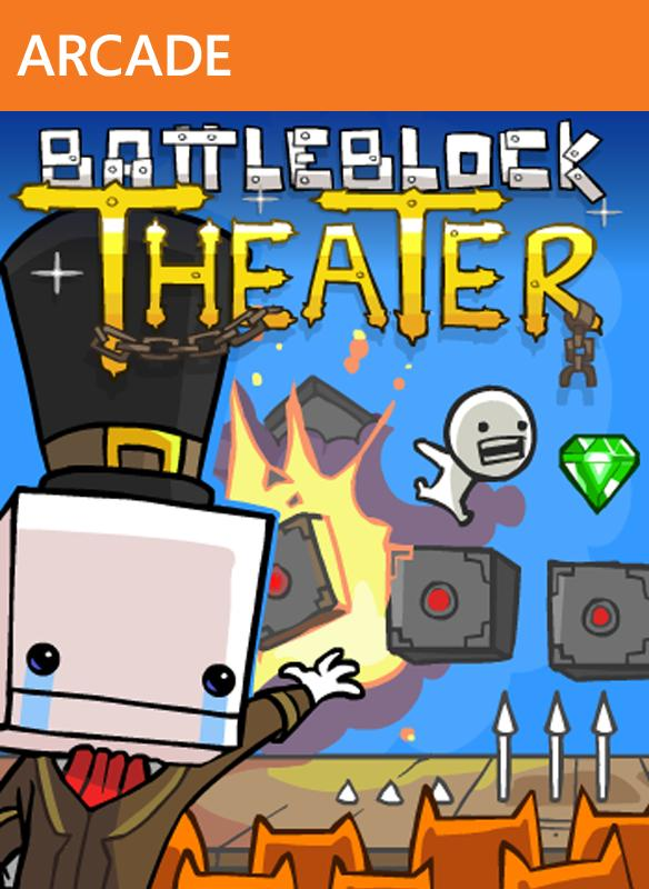 Poster BattleBlock Theater (2014)