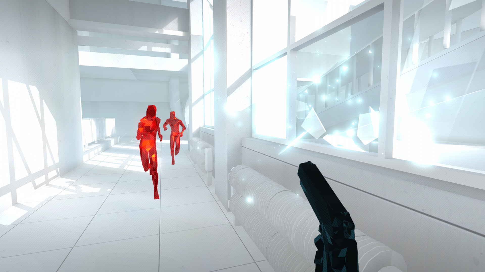 Screenshot for the game Superhot (2016) PC | RePack by R.G. Mechanics