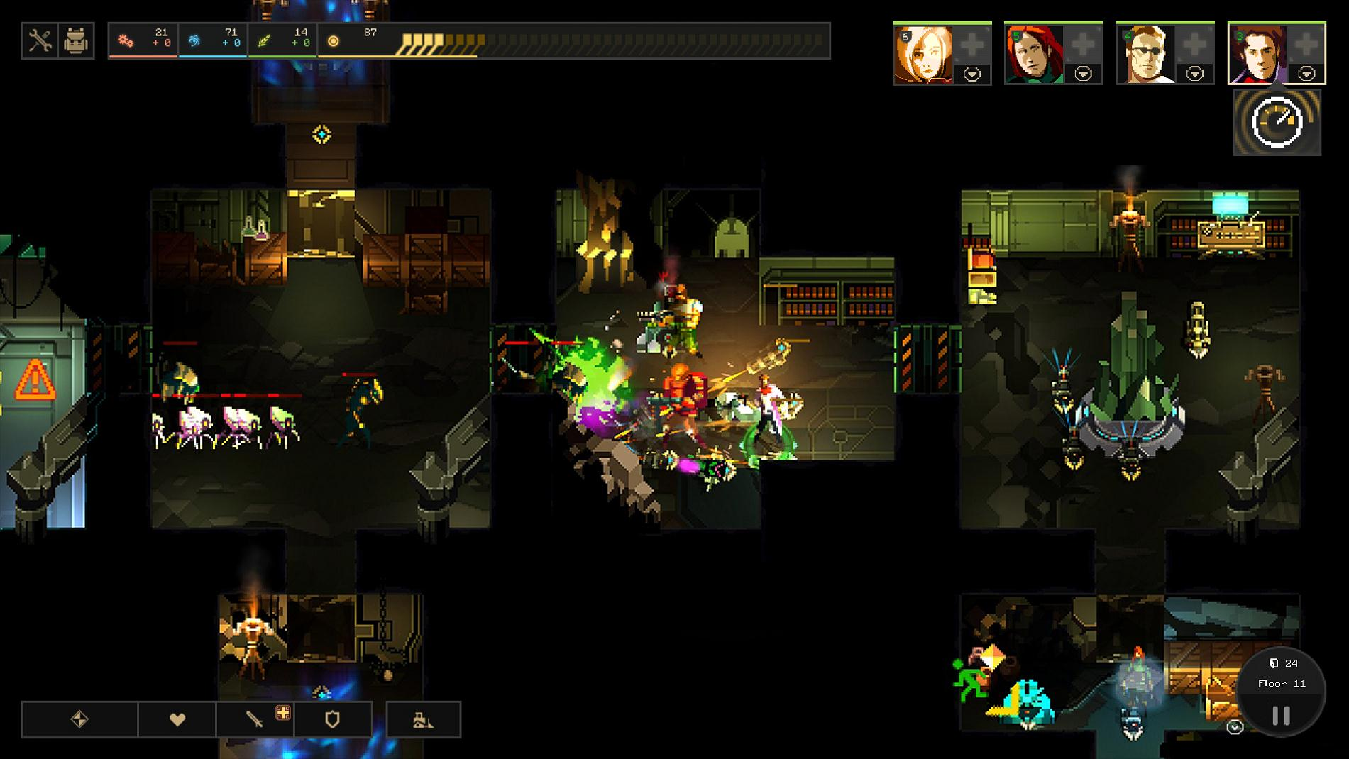 Screenshot for the game Dungeon of the Endless: Complete Edition [v 1.15] (2014) PC | RePack от R.G. Механики