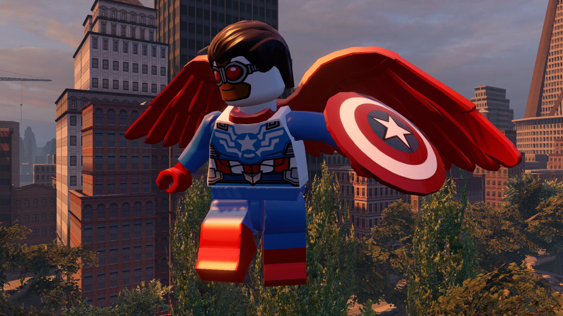 Screenshot for the game LEGO: Marvel Мстители / LEGO: Marvel's Avengers (2016) PC | RePack от R.G. Механики