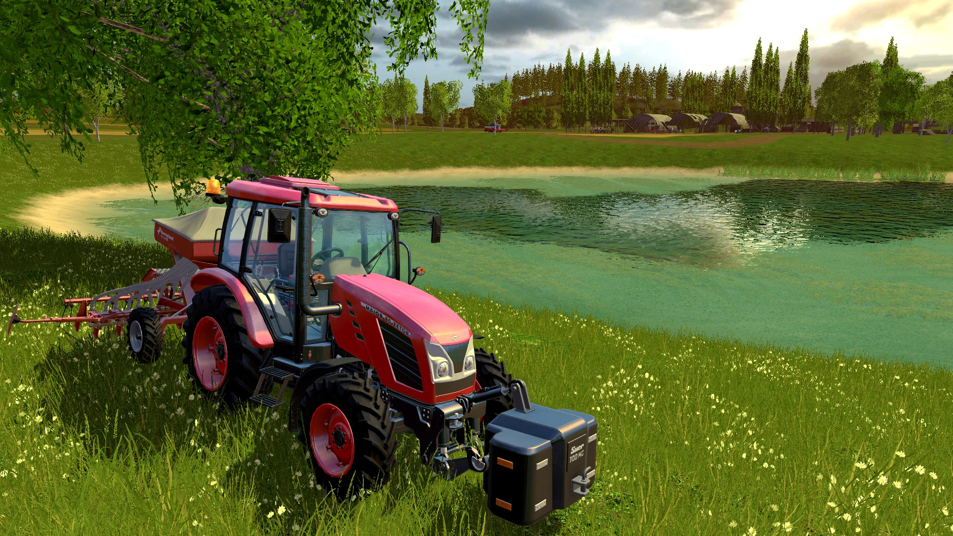 Screenshot for the game Farming Simulator 15: Gold Edition [v 1.4.2 + DLC's] (2014) PC | RePack by R.G. Mechanics