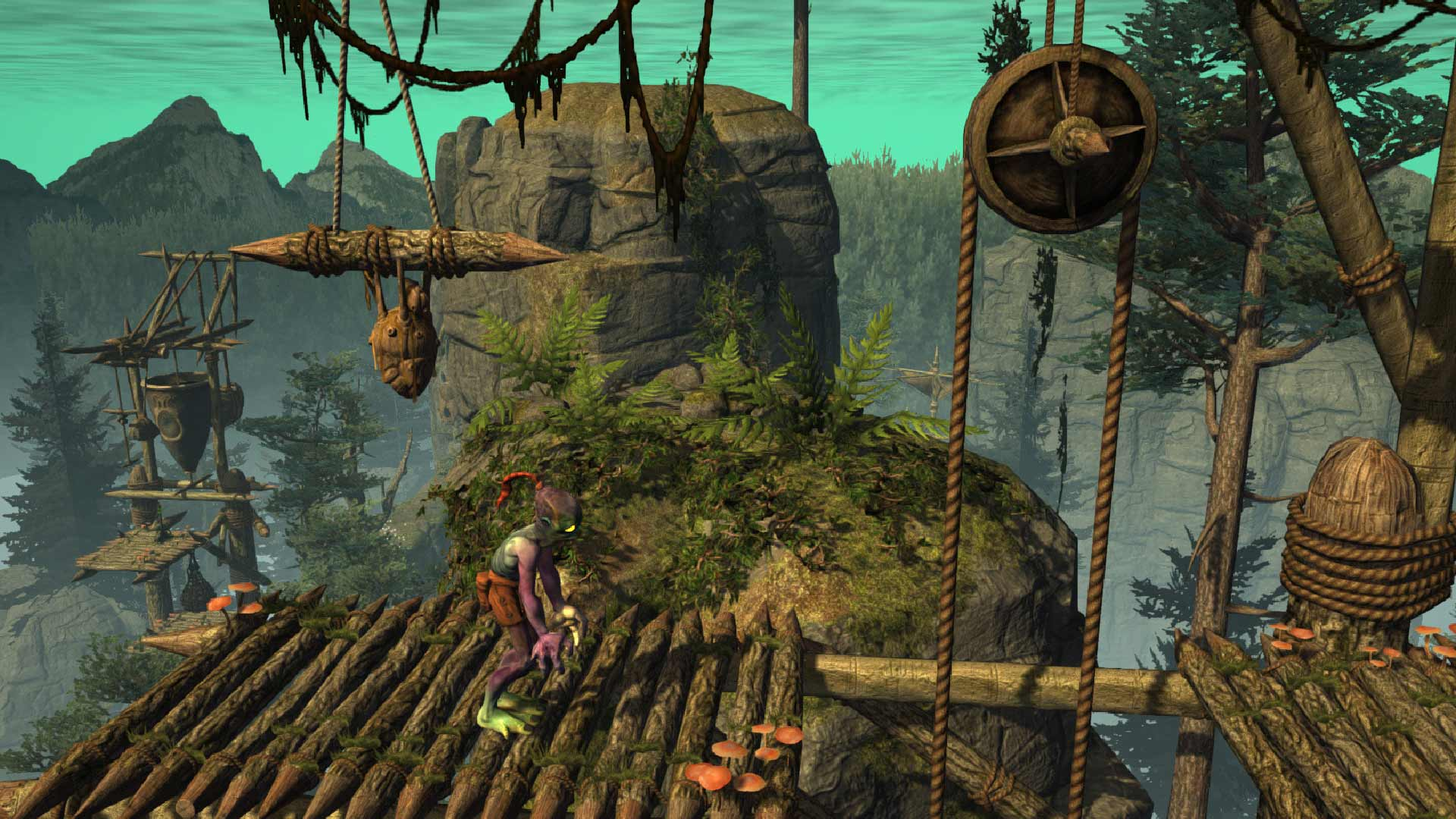 Screenshot for the game Oddworld: New 'n' Tasty [Update 6] (2015) PC | RePack by R.G. Mechanics