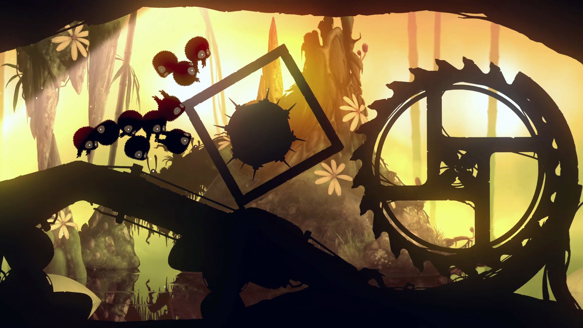 Screenshot for the game Badland: Game of the Year Edition (2015) PC | RePack by R.G. Mechanics