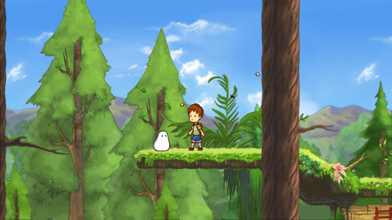 Screenshot for the game A Boy and His Blob (2016) PC | RePack от R.G. Механики