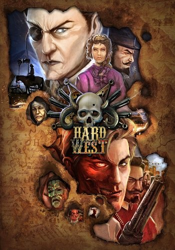 Poster Hard West (2015)
