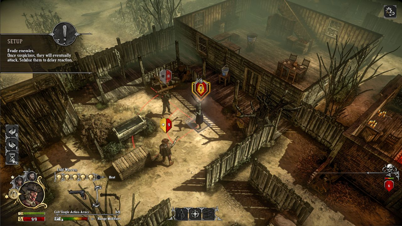Screenshot for the game Hard West: Collector's Edition [v 1.5.0] (2015) PC | RePack by R.G. Mechanics