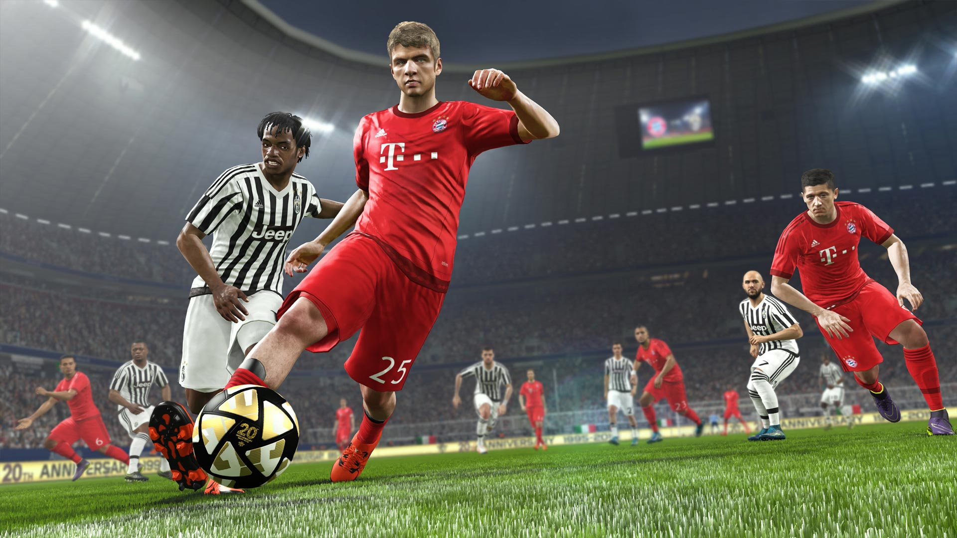 Screenshot for the game PES 2016 / Pro Evolution Soccer 2016 [v 1.03.00] (2015) PC | RePack от R.G. Механики